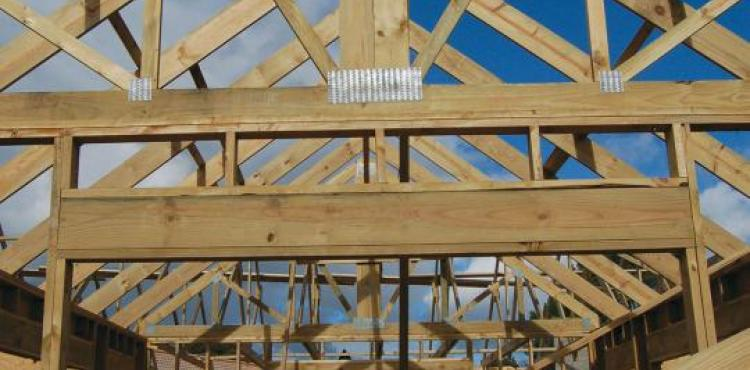 structural timber and roof trusses - thesens pine